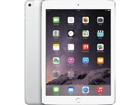Apple iPad Air 16GB, Wi-Fi + Cellular, 9.7in - Silver / White : Like New!
