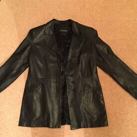 Ladies Emporio Armani Leather Jacket