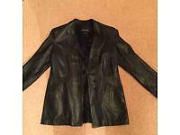 Ladies Emporio Armani Leather Jacket