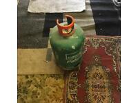 Empty bottles gas