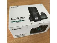 Canon EOS 80D with EF-S 18-135 IS USM Kit & accessories-LIKE NEW