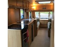 Lunar Quasar 5 berth caravan in excellent condition, 2005 model only 2 previous owners.