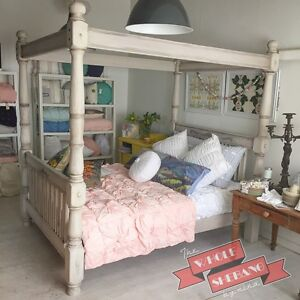 Four Poster Queen Size Bed Swan Hill Swan Hill Area Preview