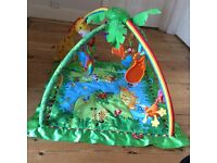 Fisher Price Jungle Fun play mat for babies. Used good condition smoke & pet free home
