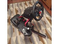Logitech G29 Steering Wheel, Pedals, Gearshift and Stand