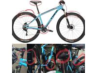 "STOLEN bike: TREK X-Caliber 9 - with distinctive light blue 21.5"" XL frame & with XL 29"" wheels."