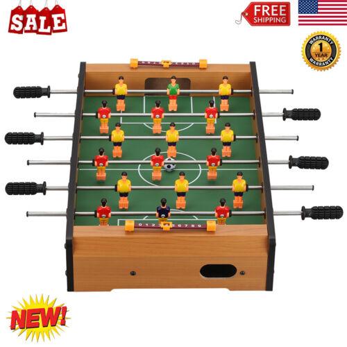 "Virhuck 9"" Portable Mini Tabletop Foosball 6 Rows Table Foot"