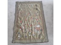 XL 100 Boys Silk Embroidered Wall Hanging