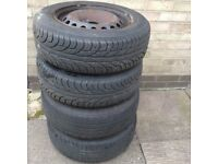 """Tyres with 15"""" wheels"""