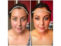 Wedding make up and hair