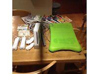 Nintendo Wii Console, Fit Board & Accessories