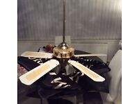 Fantasia Ceiling Fan with 3 Lights --Free to good home