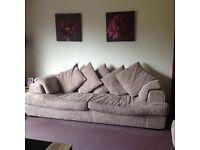 3 Piece Comfy Beige Suite for Sale