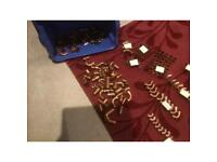 Large box of various copper fittings (over 150 items)