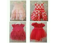 Baby girl dresses 3 - 6 months £7 each