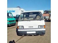 Left hand drive Mazda E2200 long wheel base mini bus.