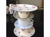 Tea Cup Cake Stand