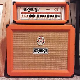 Orange guitar Head and Cab for sale !