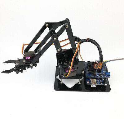 Rc Tank Smart 4-axis Robotics Arm For 51 4-dof Servo Robot Diy Kits