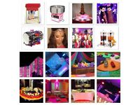Asian dj /Dhol players /house lights / dancers/ stages/ Violin/ fireworks/ fog