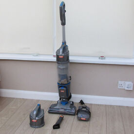 Vax Air Cordless Solo vacuum. Bagless and battery powered with spare motor and filter unit