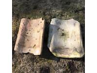 Cambridge buff/salmon roof tiles