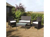 Brand New Rattan garden furniture set -FREE POSTAGE-