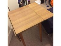 Table- Old Fashioned Kitchen Table with two fold down flaps. Pick up only £10 ono