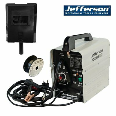 Jefferson Professional AutoMig 100 - Gasless 100A Mig Welder 230v Ready To Weld