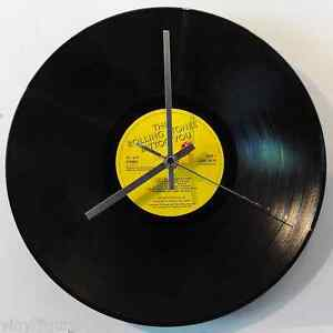 vinyl guru clock kit inc silver hands turn 12 vinyl