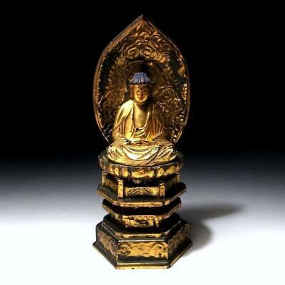 Japanese Vintage Wooden Sculpture Sen no Rikyu The Greatest Tea Ceremony Master