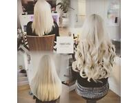 Stunning hair extensions / 💜🌸 same day appointment: no heat no glue no damage