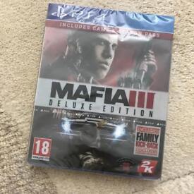MAFIA 3 DELUXE EDITION PS4 BRAND NEW SEALED