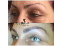 Microblading brows London