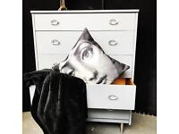 Up cycled vintage drawers