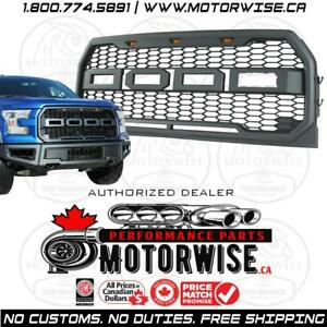 Raptor Style Grille for 2015 to 2017 Ford F-150 | Free Shipping Canada Wide | Shop and order online at www.motorwise.ca