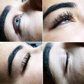 Eyelash extensions £30 only in April