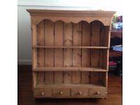 Antique wall dresser