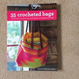 Book - 35 Crocheted Bags - new