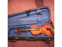 Violin 2/3 size very good condition with case
