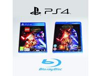 PS4 Lego Star Wars, The Force Awakens & Blu-Ray *BRAND NEW*