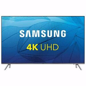 "Samsung 82"" 4K UHD HDR LED Tizen Smart TV (UN82MU8000FXZC) - Grey"