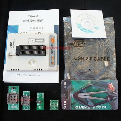 Top 2013 Usb Universal Programmer Bois Eprom Flash Mcumpu Pic Stc At Sst 9324c
