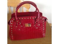 Lipsey studded meduim size handbag in excellent condition RRP 49.00 grab a bargain now