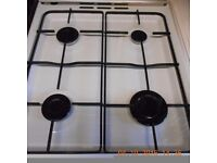 Beko gas cooker in vgc with glass top gas hob/oven and grill