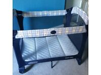 Graco Contour Travel Cot with FREE additional mattress