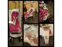 Graco baby pushchair