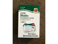 GCSE Maths Foundation AQA Revision Cards