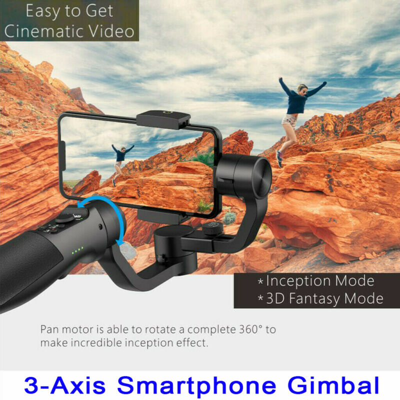Hohem iSteady Mobile Plus 3-Axis Handheld Gimbal Stabilizer