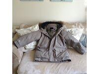 Men's next coat size l worn once